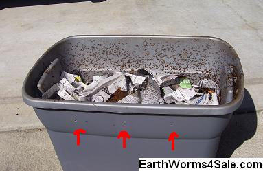 Rubbermaid Worm Bin Farm